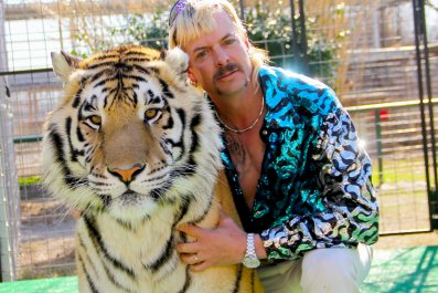 'Tiger King's' Joe Exotic Is In Jail, But You Can't Lock Up These Memes