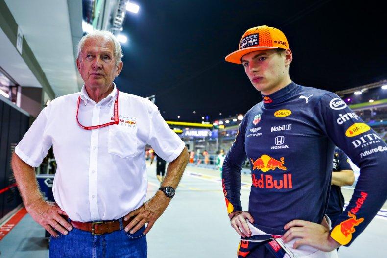 Max Verstappen, Helmut Marko, Red Bull
