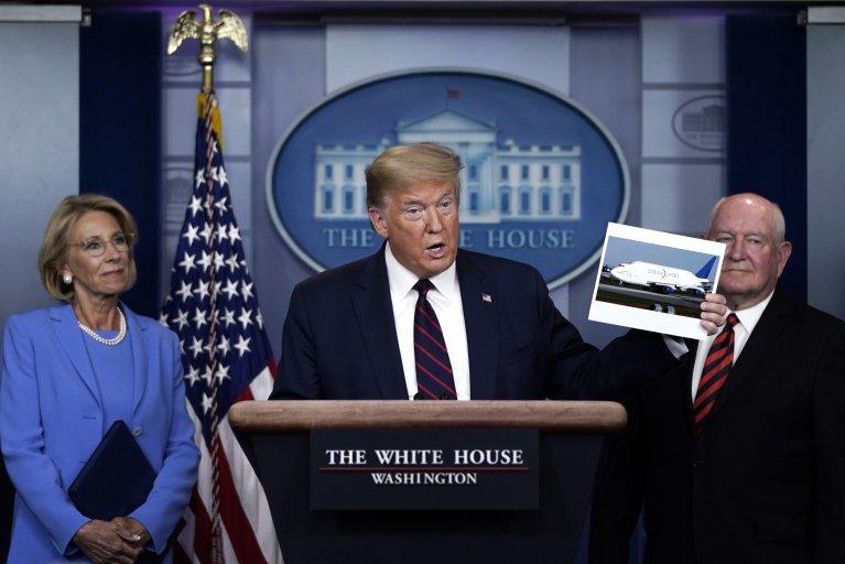 Trump Boeing