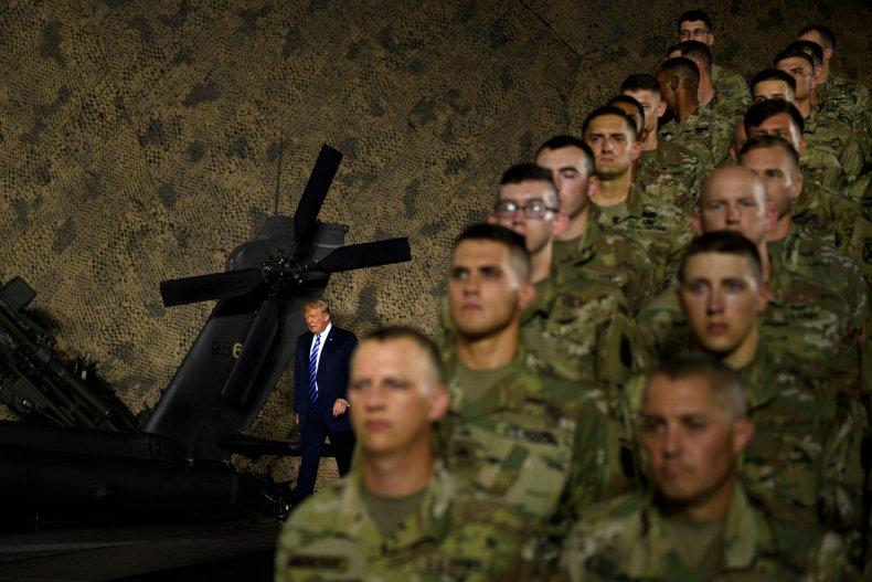 Donald Trump Military Fort Drum New York