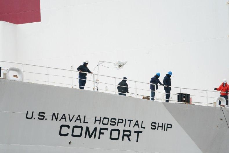 USNS Comfort