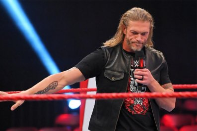 wwe monday night raw edge results