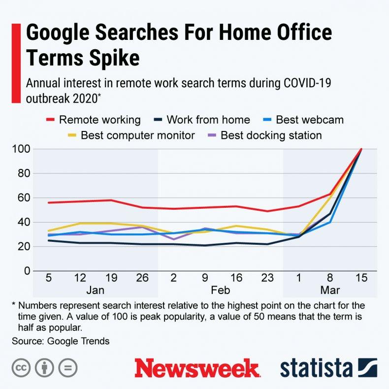 Statista Home Working