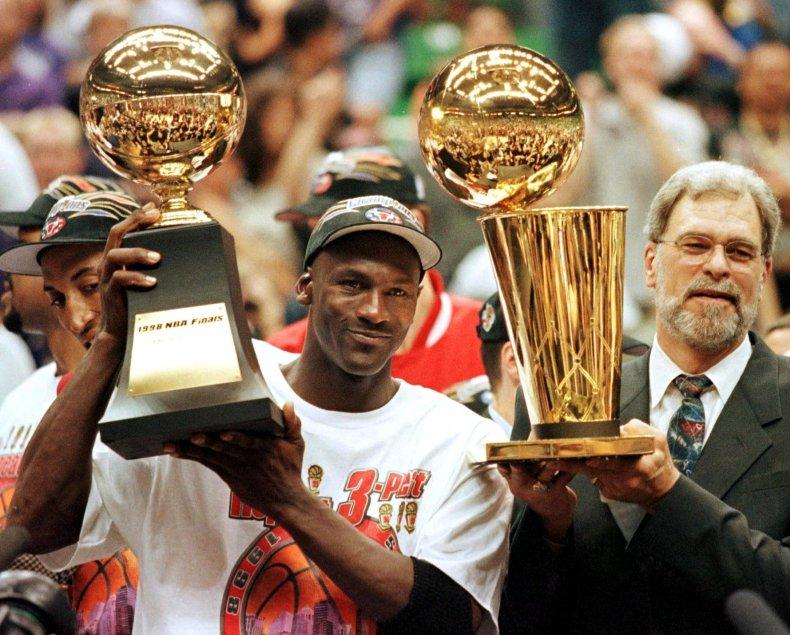 Michael Jordan, Phil Jackson, Chicago Bulls