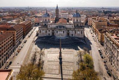 Piazza dell'Esquilino, Italy, Rome