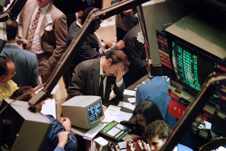 1987 stock market crash dow