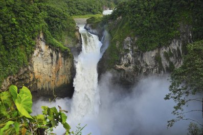 San Rafael Waterfall, Ecuador