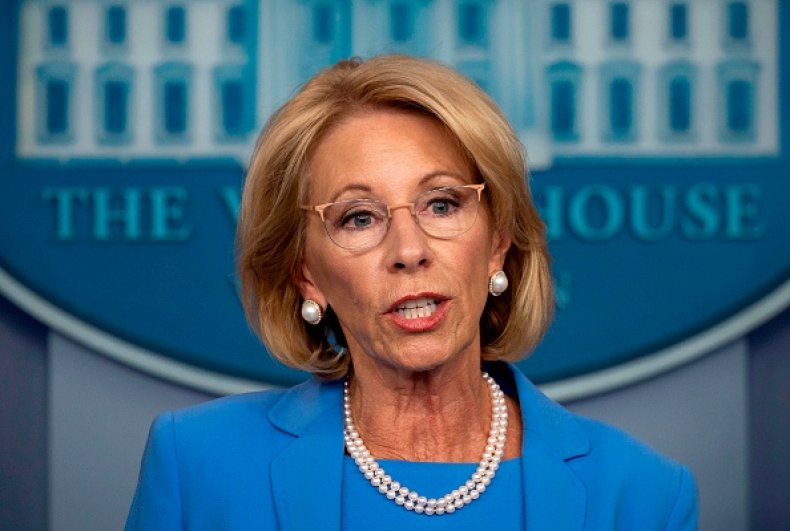 betsy devos microgrants proposal coronavirus