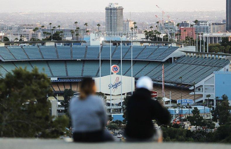 Los Angeles Dodgers Baseball Stadium