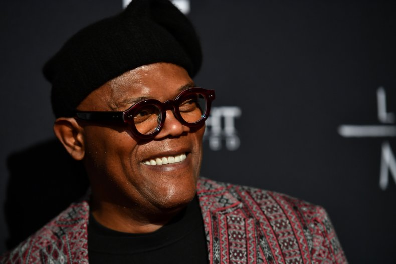 Samuel L. Jackson Orders Everyone to 'Stay the F**k at Home' on 'Kimmel'