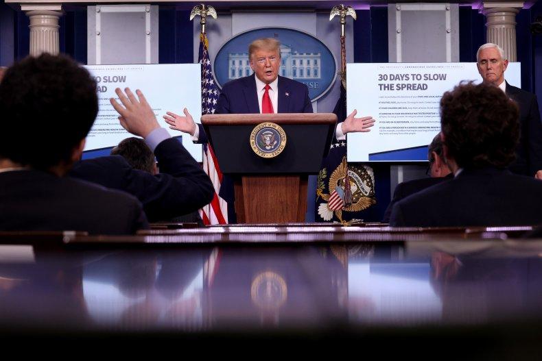Most Americans don't trust trump social distancing