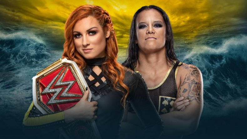 wwe wrestlemania 36 becky lynch shayna baszler