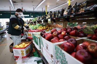 grocery store worker new york coronavirus