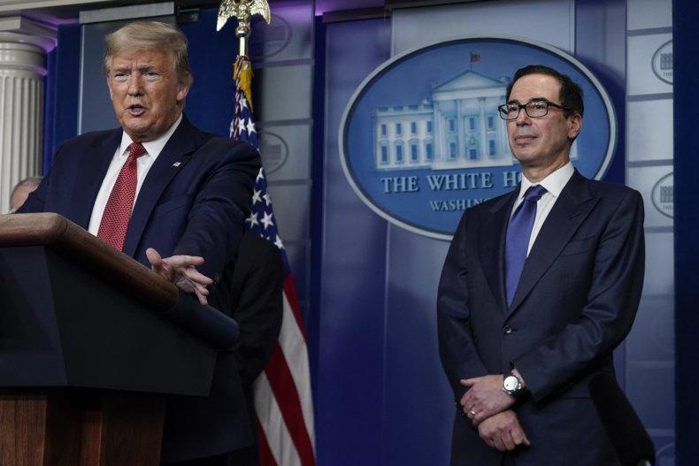 Mnuchin and Trump