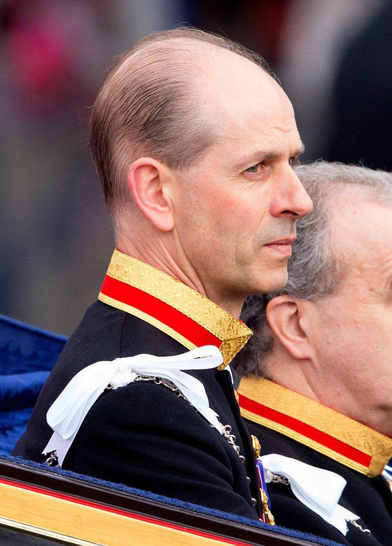 Queen Elizabeth II's butler Paul Whybrew