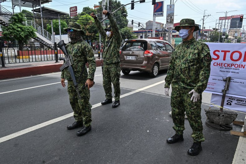 Philippines, coronavirus, lockdown, soldiers, kill, shoot, dead