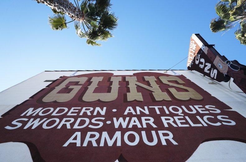 Gun store Los Angeles