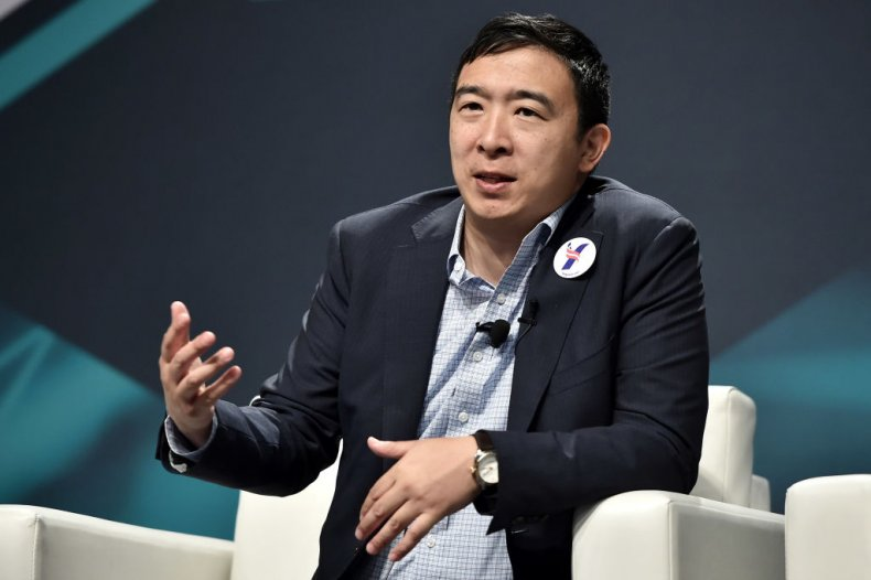Andrew Yang in New York City