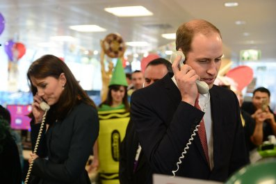 Prince William and Kate Middleton Charity Event