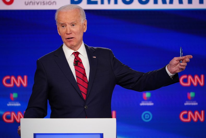 Joe Biden Calls Andrew Cuomo the 'Gold Standard' on 'Fallon'