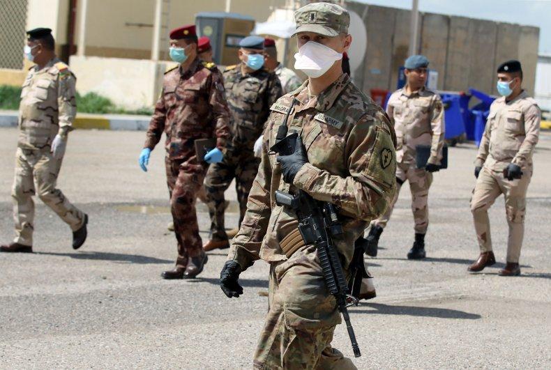 us, army, iraq, military, base, coronavirus