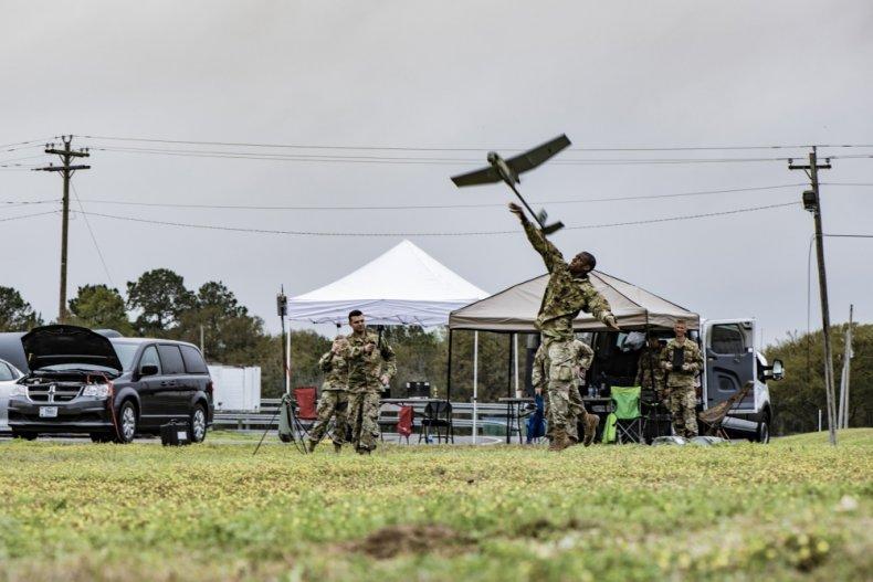 Coronavirus spying intelligence trump military mexico border