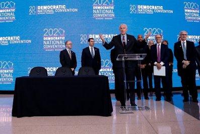 DNC announcement milwaukee 2020