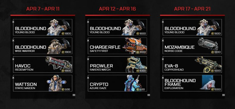apex legends old ways skins