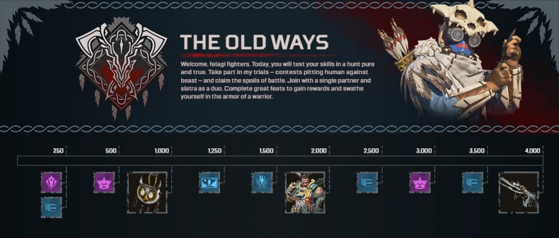 Apex Legends' Old Ways end of the year sale 2020