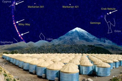 gamma ray water tanks
