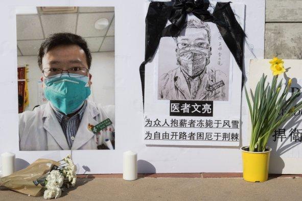 Memorial for Dr Li Wenliang, UCLA