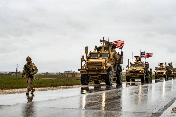 US, Syria, withdrawal, equipment, Donald Trump, OIG