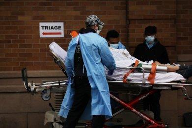 coronavirus, Friday, death toll, New York, Brooklyn