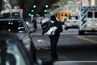 New York, coronavirus, food, restaurant, closed, poor