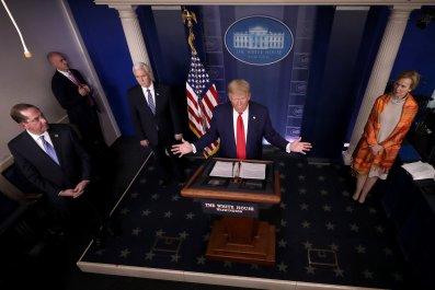 white house press briefing trump