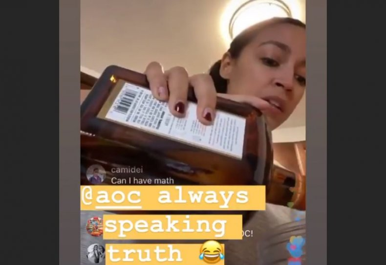 aoc margarita mix instagram video