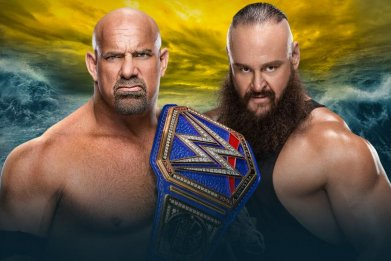 wwe wrestlemania 36 goldberg braun strowman