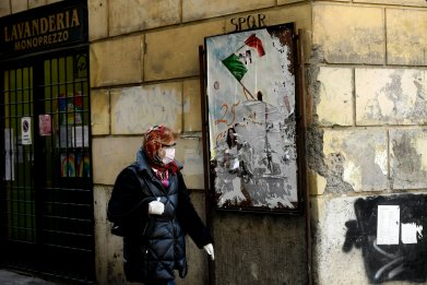 Italy Women Abuse Victims