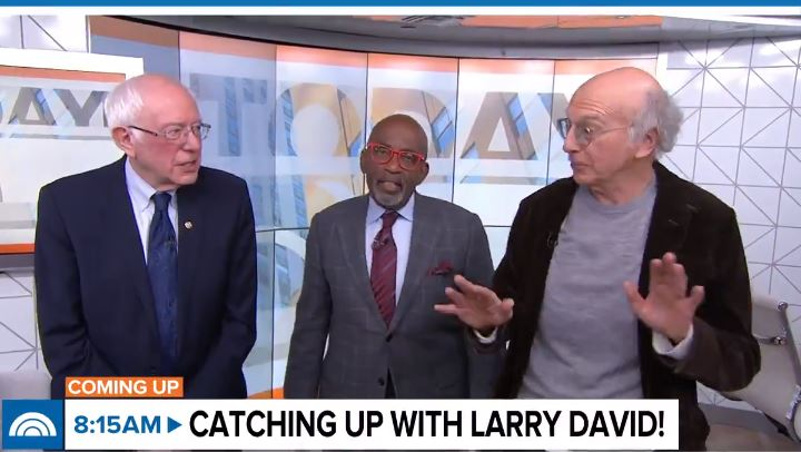 Larry David Says Bernie Sanders 'Should Drop Out' of 2020 Race: 'Everybody' Must Support Joe Biden thumbnail
