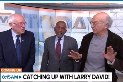 larry david bernie sanders 2020