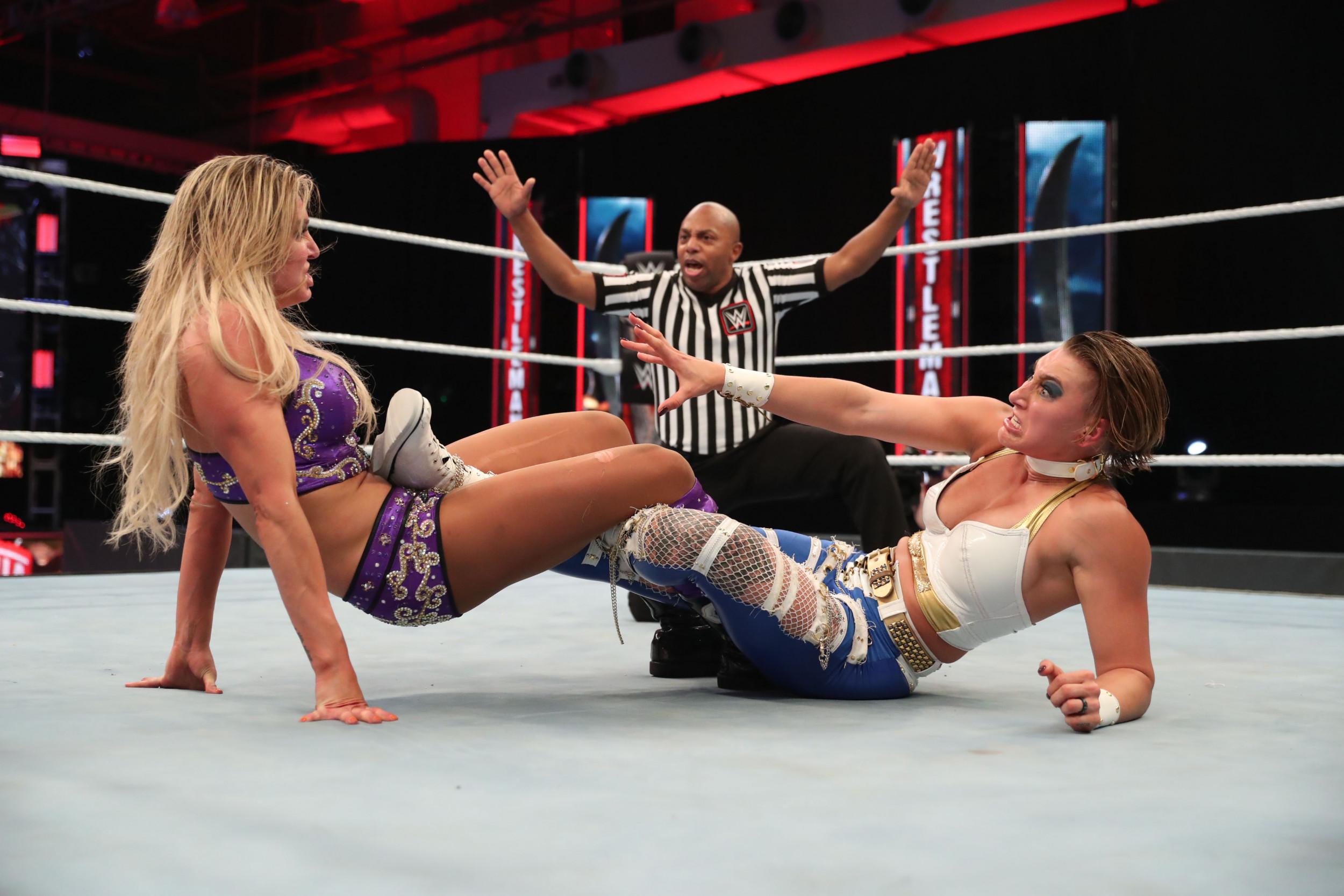 Charlotte Flair Defeats Rhea Ripley To Win Nxt Women S