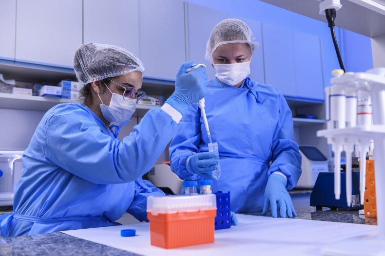 coronavirus, covid-19, getty, brazil, scientist, laboratory,