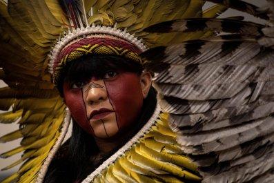 Celia Xakriaba, amazon, indigenous, getty