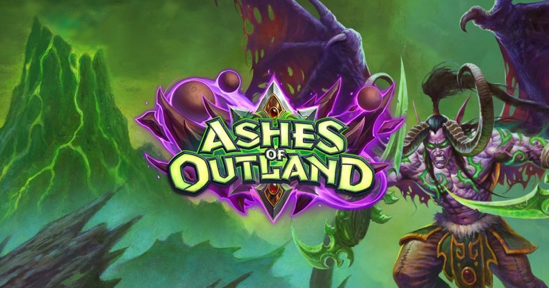 hearthstone ashes of outland release date time