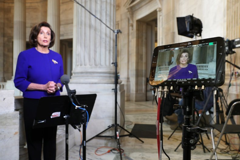 Pelosi more money unemployment stimulus