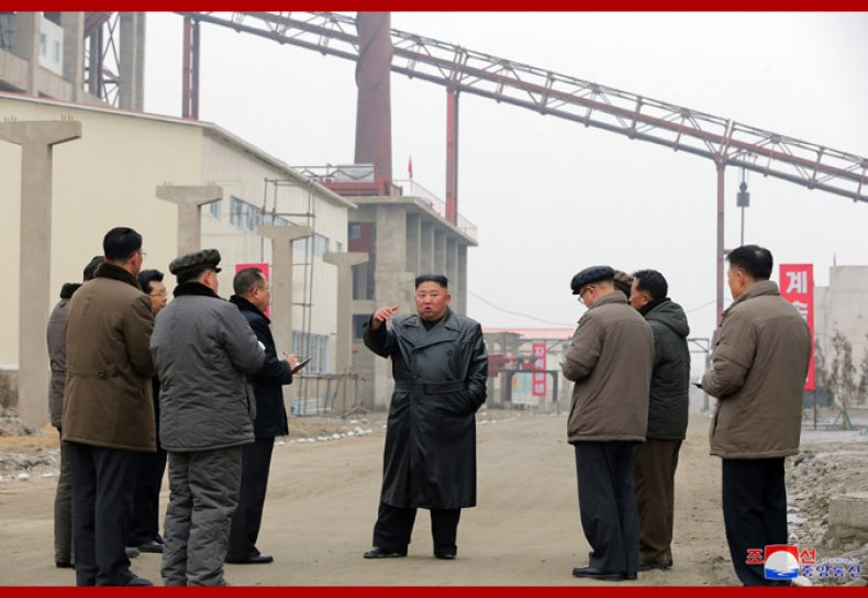 north, korea, kim, jong, un, fertilizer, factory