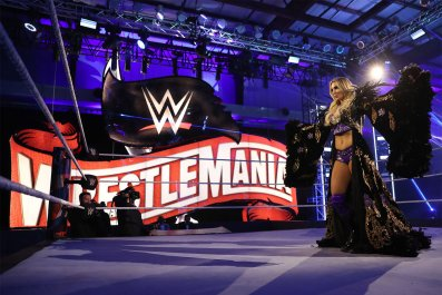 wwe wrestlemania 36 charlotte flair entrance