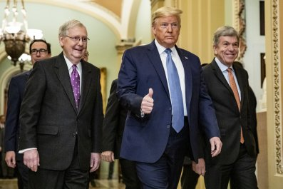McConnell fundraising soars amid impeachment trial