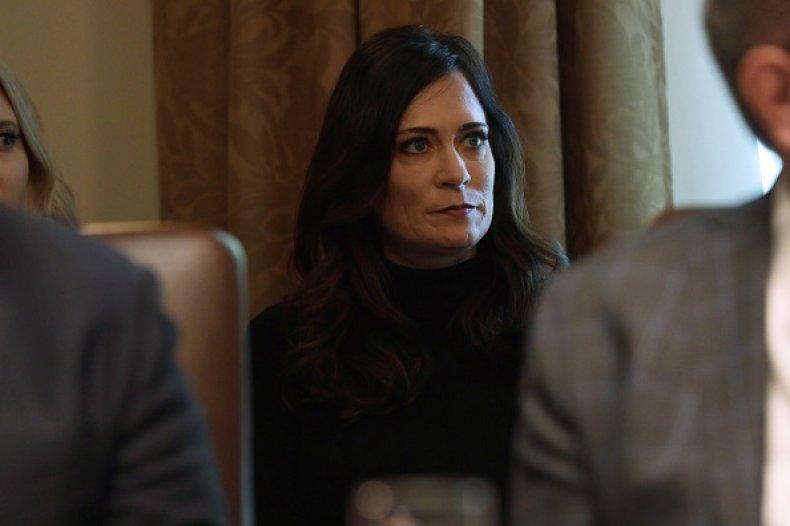white house press secretary stephanie grisham