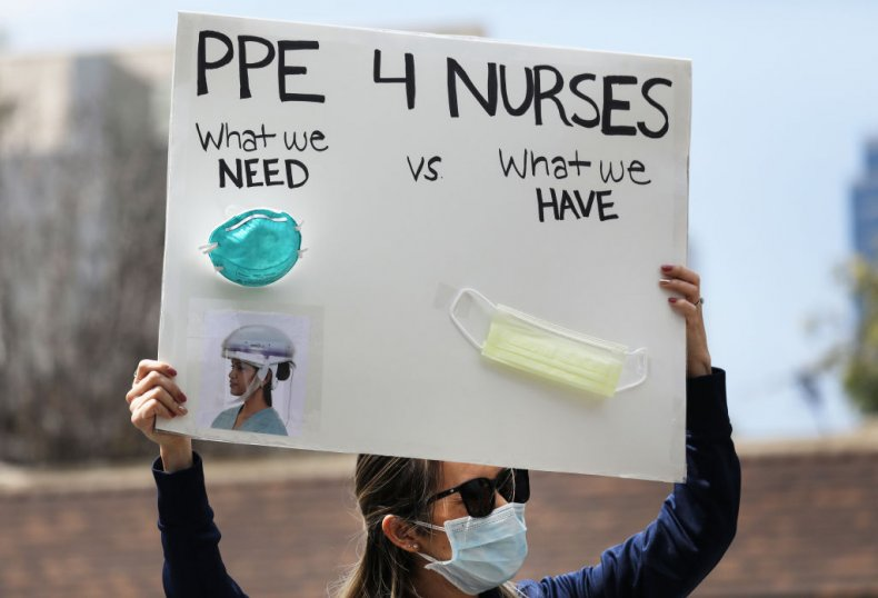 PPE protest
